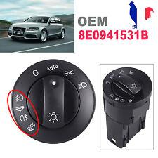 Interrupteur de Lumière Bouton Phare 8E0941531B pour AUDI A4 8E B6 B7 Noir