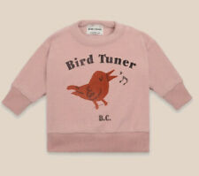 Nwt Bobo Choses Bird Tuner Terry Towel Sweatshirt 6-12 Months