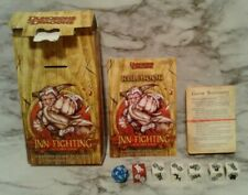 Vntg 2007 INN-FIGHTING Fantasy Dice Card Game RPG Complete D&D Dungeons Dragons