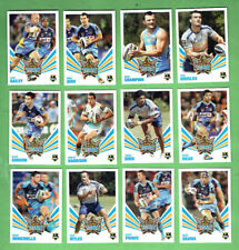 2012 NEWSPAPER  RUGBY LEAGUE 3D  CARDS - GOLD COAST