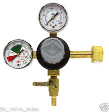 TAPRITE E-T742 CO2 REGULATOR Primary Dual High Pressure Gauge - Draft BEER/SODA