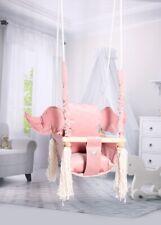Baby Swing Swings Chair Child Wood Swing Chair Wings Toy Wing Shape Swing