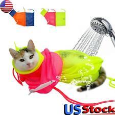 Cat Grooming Bag Mesh Cat Grooming Bathing Bag Cat Washing Bath Bag Restraint Us