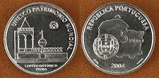 PORTUGAL  ,  5  EUROS  ARGENT  2004  UNESCO  ,  SUPERBE