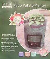 Fold Away Garden Grow Potato Planter Bag Home Grown Potatoes Small Limited Space