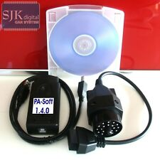 OBD2 Diagnose für BMW PA-Soft 1.4.0 Codierfunktion TV-Free + 20Pin Adapter +++