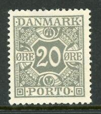 Denmark 1930 Postage Due Perf 14x14½ Scott J18 Mint N863