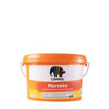 (15,20€/ L)Caparol Muresko SilaCryl 2,5L weiss ,Siliconharz-Fassadenfarbe