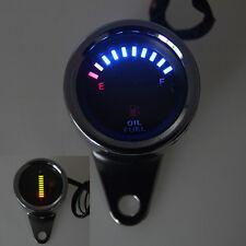 Tankanzeige 12V LED Tankuhr Kraftstoffanzeiger für Auto Motorrad Truck Universal