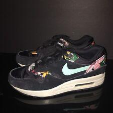 d9f1ead4332 2014 Nike Air Max 1 Tropical Floral Prints Running Shoes Men US 7.5 EUC