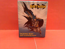 Batman Talking Bust and Book by Matthew Manning MINT sealed