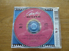 1 CD Single CANDY DULFER / I Can´t Make You Love Me