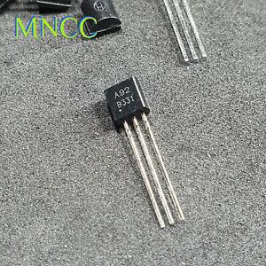 2/5/10pc MPSA92 A92 PNP 300V 500mA 625mW General Purpose Transistor TO-92