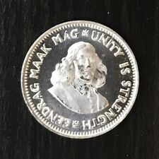South Africa 1961 Silver 2 1/2c PROOF - Low Mintage 7500
