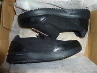Rockport Works RK500 truSTRIDE Women Non Slip Safety Toe EH Oxford Work Shoes