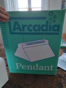 Arcadia Hängelampe HQI 150 W mit Brenner NEU, OVP