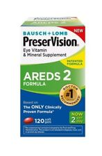 PreserVision AREDS 2 Vitamin - Mineral Supplement, Soft Gels 120 ea (Pack of 4)
