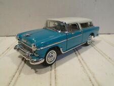 Danbury Mint 1955 Chevrolet Nomad nMINT Chevy 1:25 scale