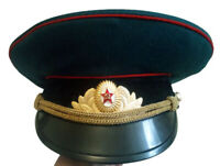 Soviet Russian Military Army Uniform Hat Cap Peaked Cap Size 55 (XS)