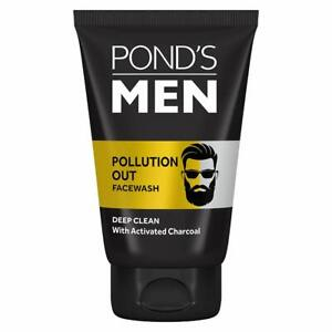Pollution Out Activated Charcoal Deep Clean Facewash (50g) For Men From Pond's