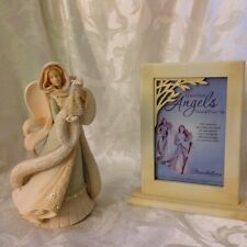 Foundations by Enesco,  Angel with Christmas Tree