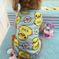 Clothes Chihuahua Yorkie Puppy Clothing for Dog Jumpsuit Dog Pajamas Cotton Dog