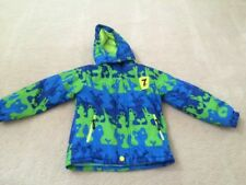 YOUTH Child size 5/6 small Rain Resistant winter coat fleece lined insulated