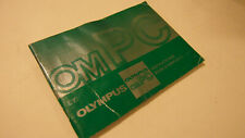 RARE CLEAN ORIGINAL OLYMPUS OMPC OM PC 35MM USER INSTRUCTION MANUAL GUIDE BOOK