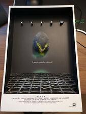 2006 Mcfarlane Toys Alien 3-D Movie Poster - Very Rare