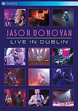 Jason Donovan: Live in Dublin - DVD Region Free [New & Sealed]
