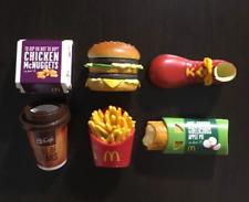 McDonalds McDonald's Food Magnet 6pcs complete set Rare French Fries, Burger