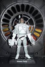 """Star WarsCUSTOM Prototype Boba Fett, Black Series 4"""" fig. w/removable helmet."""