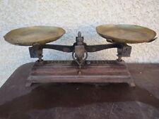 ancienne balance roberval force 5 kg vieux commerce vintage epicerie commerçant