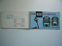ALCO LOCOMOTIVES DL 701 702 600 430 PHOTOS STATS MODIFICATIONS SCHEMATICS 28 PGS