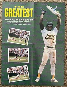Rickey Henderson The Greatest from Bowman