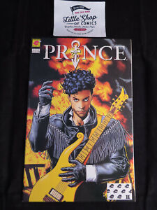 PRINCE #1 VF/NM 2nd print BRIAN BOLLAND cover ALTER EGO Comics