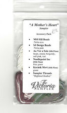 A Mother's Heart Sampler by The Victoria Sampler accessory pack