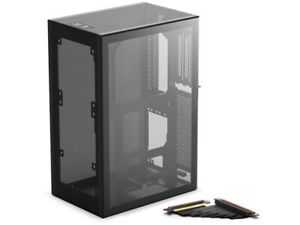 SSUPD Meshlicious Mini-ITX Small Form Factor Case - TG With PCI-E 4.0 Riser