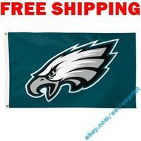 Deluxe Philadelphia Eagles Logo Flag Banner 3x5 Ft 2021 NFL Fan Home Decor NEW