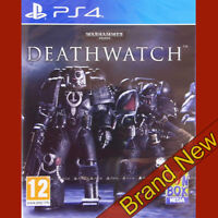 WARHAMMER 40,000: DEATHWATCH - PlayStation 4 PS4 ~ Brand New & Sealed
