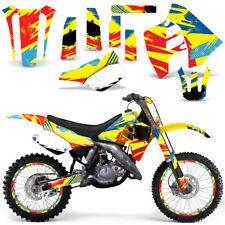 Graphic Kit Suzuki RM 125 RM 250 Dirt Bike Decal MX Motocross Deco 1989-1992 MON