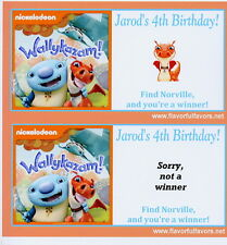 10 Wallykazam personalized party favors scratch-off game
