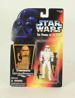 Star Wars Red Card Stormtrooper Holo MOC POTF2