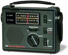 C. Crane CC Solar Observer Wind Up Solar Emergency Crank Radio NEW in BOX