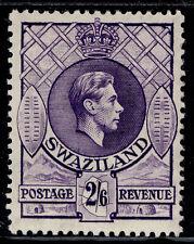 More details for swaziland gvi sg36, 2s 6d bright violet, m mint. cat £32.
