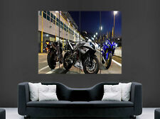 YAMAHA R1 YZF POSTER  MOTORBIKE RACING SUPERBIKE  HUGE LARGE WALL ART PICTURE