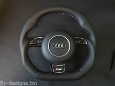 Audi flat bottom multi steering wheel paddle shifters  A3,S3,A4,S4,A5,S5,A6,S6