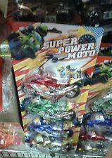 Set 4 moto corsa  Kit gioco di qualità giocattolo toy