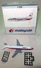 SCHABAK MALAYSIA  B737-300 #825/65 MADE IN GERMANY 1:500 SCALE DIECAST