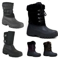 Groundwork Womens Mukker Stable Yard Snow LS21 LS87 Lace Up LS005 Wellies Boots